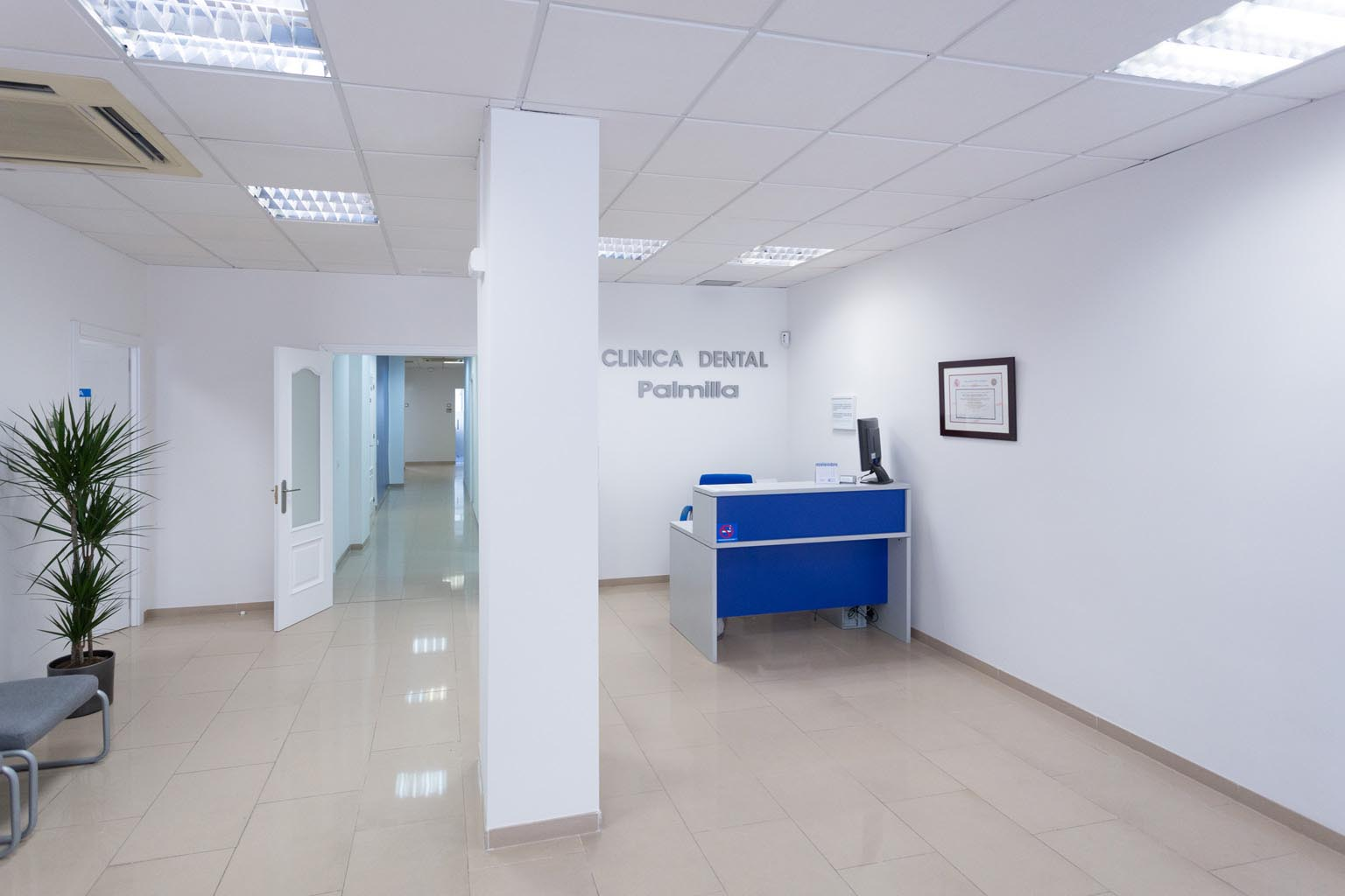 Interior Clínica dental en Almería - Clínica Dental Palmilla