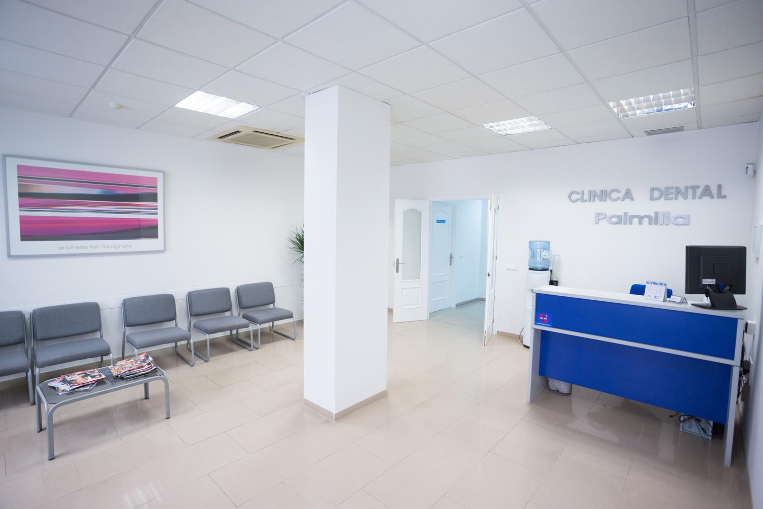 Interior Clínica dental en Almería - Clínica Dental Palmilla