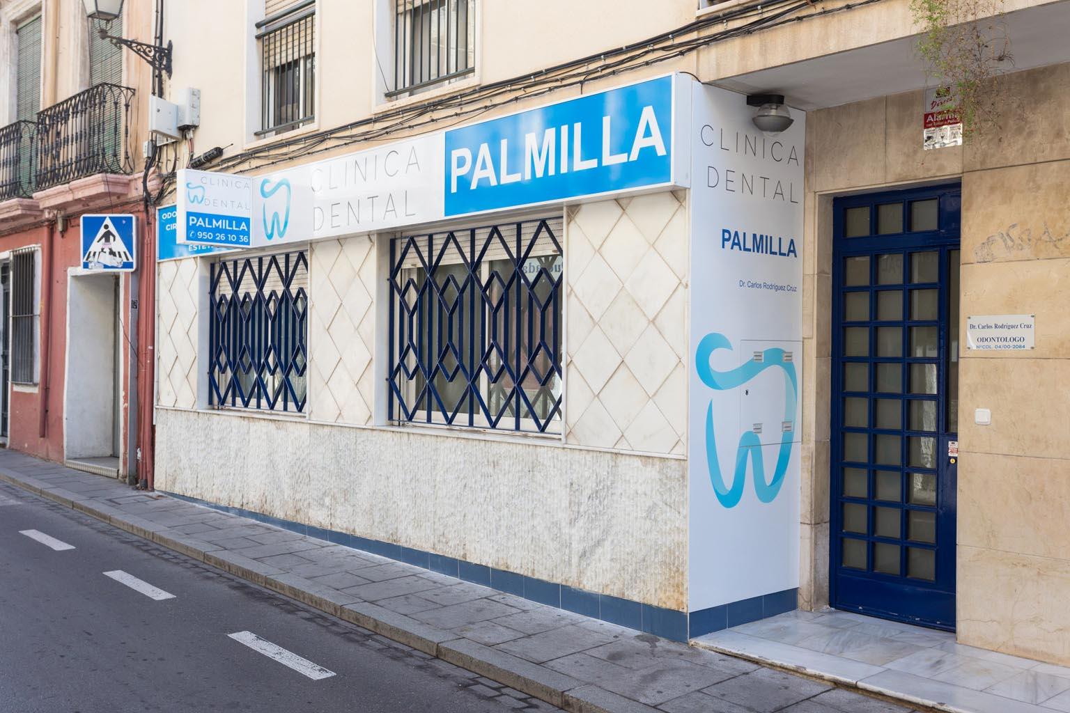 Clínica dental en Almería - Clínica Dental Palmilla en calle Real de Almería