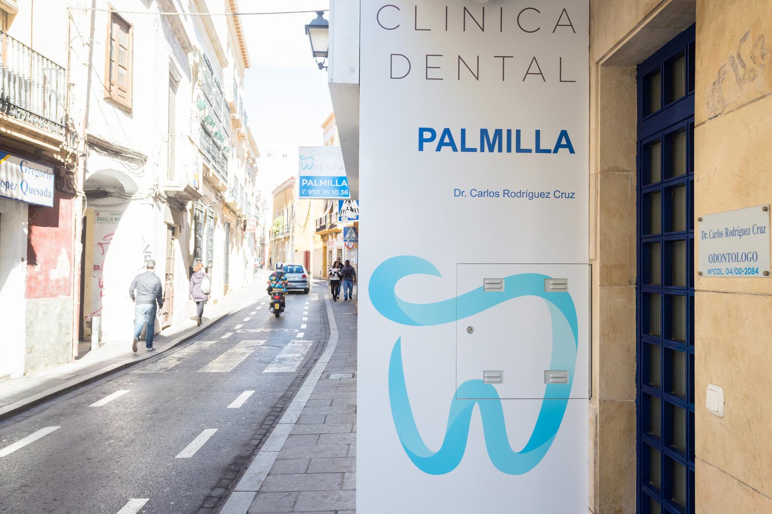 Clínica dental en Almería - Clínica Dental Palmilla - calle Real centro de Almería